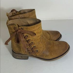 Aldo Leather Boots Size 36